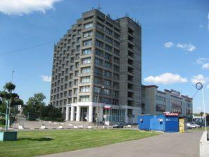 Здание, в котором расположен наш офис